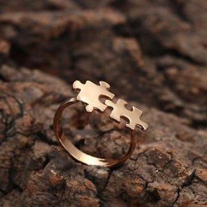 Puzzle Ring Чандлер New Gold игрушка Кирпич головоломки
