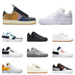 nike air force 1 Hommes Chauds 1 Utilitaire Classique Noir Blanc Dunk Femmes Casual Chaussures red one skateboard High Low Cut baskets Sport Sneakers taille 36