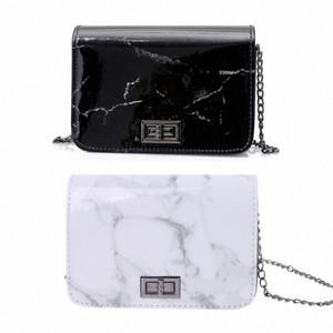 Women Leather Marble Pattern Shoulder Bag Tote Handbag Messenger Bags Hobo Purse Female Fashion Design Bags 2018 THINKTHENDO W3Af#