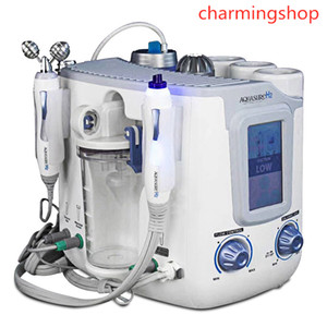 Professional 3 in 1 Hydro Microdermabrasion Hydra Facial Deep Cleaning BIO Microcurrent Lift Skin Tightening Spa Treatment Free DHL
