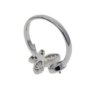 Винтажные женские открытые кольца Настройки Круглый кабошон Base 7мм ободок Tray Fit Half Hole Pearl Beads DIY кольца перста ювелирных изделий аксессуары