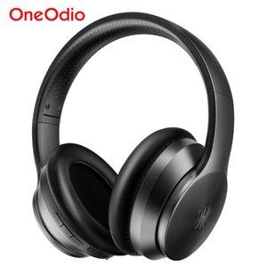 A40 ANC Bluetooth Kulaklık Aktif Gürültü Önleyici Kablosuz Kulaklık Katlanabilir Bass ile Mikrofon İçin Müzik Oneodio