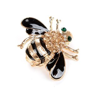 Hot selling Korean style exquisite cute bee brooch pin wholesale jewelry women brooches pin new clothing fashion accessories