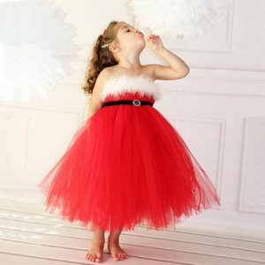 2020 New Arrival Cute Sweet Toddler Baby Girls Christmas Dress Princess Dress Party Fancy Infantil Child Girls Clothes 2-8 Years