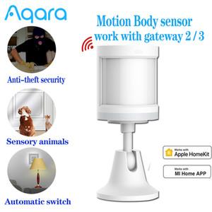 Collegamento del sensore del corpo umano Aqara del sensore di movimento Movimento ZigBee senza fili per il sistema di allarme lavoro con Apple Homekit / Xiaomi mijia