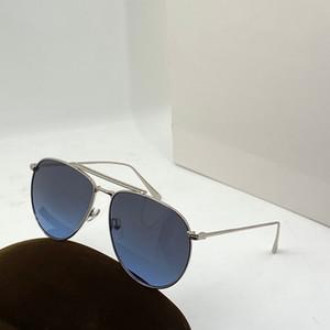 5942 óculos de sol das mulheres simples moda moldura oval com UV lente de proteção estilo popular do verão óculos de sol de qualidade superior com caixa de relógio