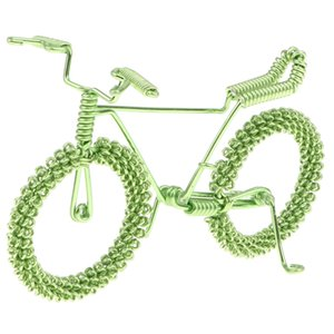 Retro Handicraft Bicycle Model Bike Toy For Kids Home Decor Collectible Gift