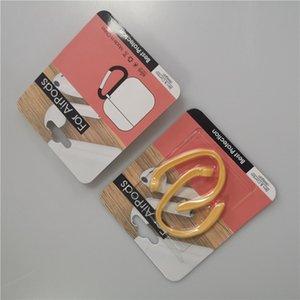 auricular inalámbrico anti-pérdida de gancho para la oreja del auricular Bluetooth portátil accesorio de auriculares anti-pérdida del cable del auricular del Hoder cuerda de seguridad de 6 colores GGA3700-1
