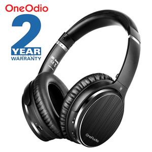Oneodio A3 Bluetooth наушники Активное шумоподавление Беспроводная гарнитура Apt-X Low Latency Over Ear наушники с микрофоном для телефона