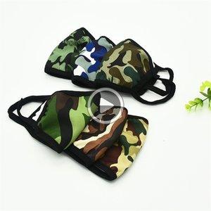 Popüler printting Mascerine Mout Doule Katmanlar Kamuflaj Winter ın Çift Toz Fa Maskesi Renk Mix 1RY E1 Michelle Maske