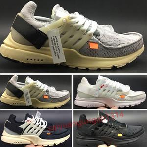 2018 Новый Оригинал Presto V2 Ultra BR TP QS Black White x Обувь Дешевые Спорт Женщины Мужчины AI Prestos Off Кроссовки C13