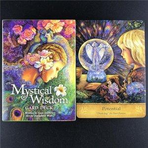 Verkauf Wisdom Karten Spiel Mystical Hot Deck Card Oracle-Karten Tarot Großhandel Freund Spiel Tarot Tabelle Partei Karten ZXcNU garden_light