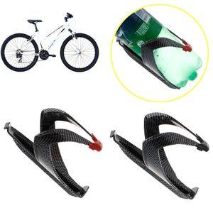 Bisiklet Bisiklet Bisiklet Açık Su Şişesi Tutucu Holding Montaj Karbon Elyaf Yol Kafes Hafif Bisiklet Aksesuarları Raf