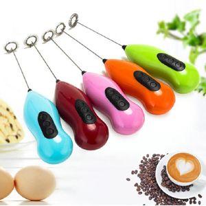 Manual Coffee Blender Egg Beater Bubbler Milk Foamer Maker Stir Juice Electric Handheld Mixer Blender Egg Stirring Kitchen Tools