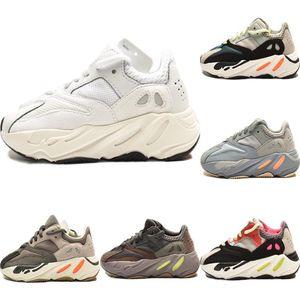 2020 Runner 700 V2 Enfants statique réfléchissant Chaussures de sport original Kanye West 700 Runner Calabasas Inertie Chaussures Amorti Jogger