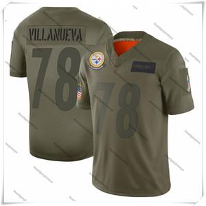 quente NOVO 78 Alejandro VillanuevaPittsburghladrões2020 Salute to Serviço aposentados Limitada Jersey Olive Jerseys