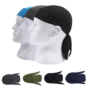 1pc Quick Dry Pure Cycling Cap Head Scarf Summer Men Running Riding Bandana Headscarf Ciclismo Pirate Hat Hood Headband