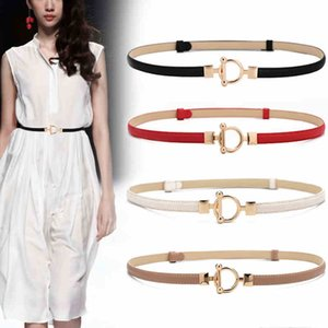 New Designer High Quality Luxury Fashion Slender Cowhide Women's Belt For girl Skirt Shirt Sweater Chain Decorative Belts Cintos