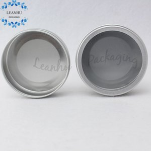 100g Silver Empty Skin Care Cream Aluminum Jar,Refillable Empty Makeup Containers,Perfume Cosmetic Packaging Jar