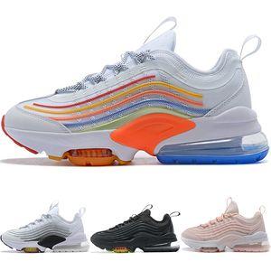 2020 Zoomx 950 Reaccionar malla blanca para hombre Negro de los zapatos corrientes del amortiguador Tipo de zoom Turbo 95s Doble Deportes Mujeres zapatillas ZM950 ZMQSO CJ6700-100