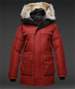 2020ss Erkekler YATESY Uzun Parka Çapraz Tarama Aşağı Parka Siyah Donanma Zeytin Kış Coat Arcticparka Ceket Satış Çevrimiçi Mağaza
