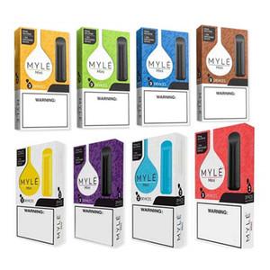 Myle Mini Disposable Device Vape Pod Kit 280mAh Battery 320 Puffs 1.2ml Pre-Filled Vape Empty Pen VS Air Bar Pl us Flow