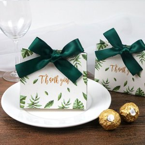 20Pcs Party Favors Candy Box Wedding Gifts For Guests Personalized Gift Chocolate Boxes Packages Supplies 11.5*10*4.5CM