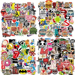 Hot Sale 100 Pcs Lot Mixed Sexy and Vulgar Stickers for Luggage Laptop Car Styling Waterproof Cool Sticker Bike Sexy Decals