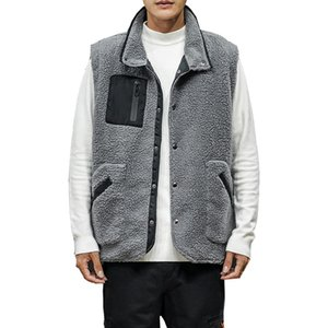 Fashion Winter Vests Jacket Men Warm Clothes Mens Vests Casual Sleevelesss Coat Mens Outerwear Jackets and Coats