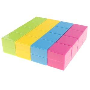 16 шт Пластиковые Геометрическая Solids Кубики - 3D геометрия блока манипулятивы Математика Математика Обучающие игрушки Студент