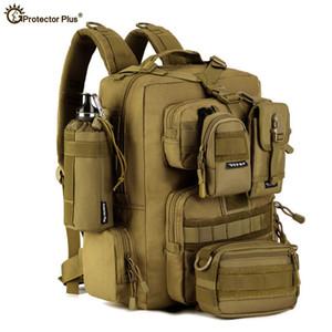 30L Uomo / Donna Escursionismo Bag Zaino dell'esercito impermeabile Molle Bug Out Bag Esterni zaino di campeggio