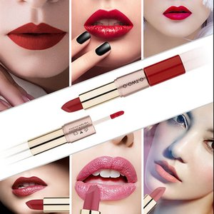 Velvet Matte Lipstick Lip Gloss Long-lasting Nonstick cup Moisture Cosmetic Waterproof Lipstick 12 Colors Lip Gloss Rouge Kit