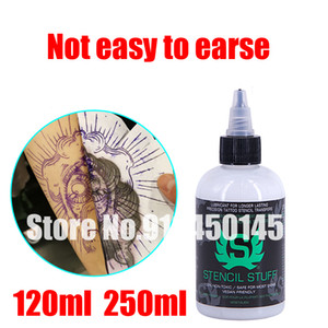 Wholesale America Brand Stencil Stuff Longer Lasting Tattoo Stencils paint Transfer Formula 4oz 8oz Tattoo Ink Beauty Tools