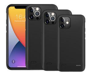 iPhone 12 Pro Max 12 Pro 12 외부 슬림 배터리 전원 케이스 은행 충전기 백업 커버 용 8000mAh