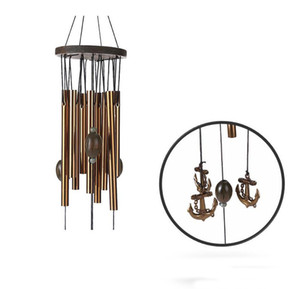 62 cm Antirust Copper Wind Chimes Lovely Outdoor Living Yard Garden Decorations Birthday Gifts to Friends and Best Wishes