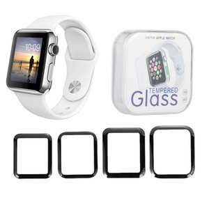 3D Glass Screen Protector Cover For iWatch 38 42 40 44mmTempered Glass Protective Film For watch Series Watch 5 4 3 2 1