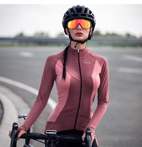 Yeni 2020 Cycling Jersey Uzun Kollu Açık Kış Termal Polar Bayan Bisiklet Giyim Bisiklet Ceket Maillot Ropa Ciclismo