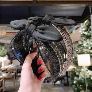 Einfacher Bogen Kopf-Band-Diamant-Bogen-Stirnband-Mädchen süße Kopfbedeckung Qualitäts-Haar Accessorie 8 Arten