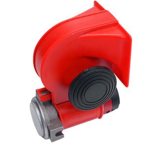 Araba Motosiklet için Arabalar Çift Tonlu Trompet Elektrikli Pompa Hava Salyangoz Siren Hava Sinyali için 12V 278DB CarHorn Süper Loud Horn