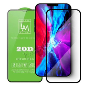 20D Curved Edge Premium Screen Protector Film Tempered Glass For iPhone 11 Pro Max SE 2020 Xs XR 7 8 Plus Factory Price