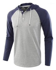 Shirts Designer Male Spring Autumn Hooded Casual T shirts Long Sleeved Tops
