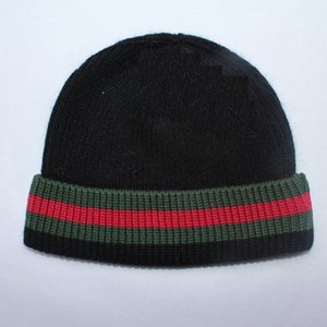 Designer Brand Unisex Beanie Hats Striped Adjustable Men Women Skull Caps Solid Knitted Halloween Hats for Birthday Gift