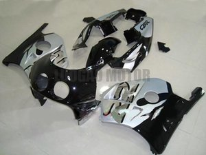 7Gifts Injection Fairing kit Honda cbr250rr 11 12 13 14 CBR250R 2011 2012 2013 2014 CBR 250RR ABS Fairing bodywork #SLIVER BLACK#   .