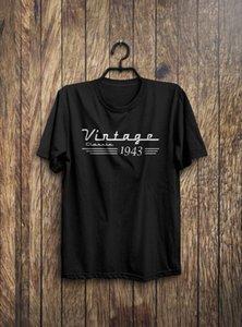 Cool T-Shirts Designs Best Selling Männer 75. Geburtstags-Geschenk - 75. Geburtstag Shirt - Geboren 1943 Geburtstags-Hemd-T-Shirt