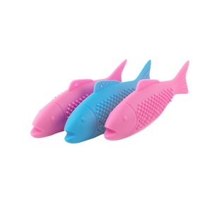 Pet cat silicone dental care friction clean oral care chew stick can be used for daily interaction Comes with catnip DHL free shipping