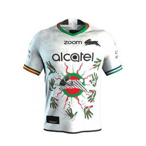 2019 Australien South Sydney Rabbitohs Rugby Jersey South Sydney Rabbitohs 2019 Männer COMMEMORATIVE Jersey Shirt Australien NRL Premiersh