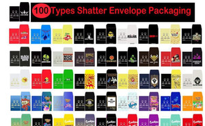 100 Packaging Envelope Coin Shatter Concentrate Paper Wax Custom Strain Sd Assorted Packaging Slim Packs Types Card Packs Shatter bbyzP