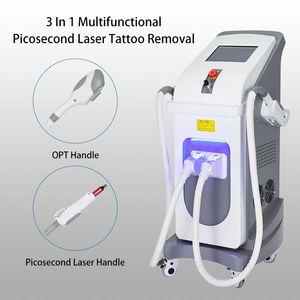 Удаление New Vertical татуировки лазера Шрам пятна Пигментные терапия подтяжки кожи Anti Aging Picosecond красоты Machine Device
