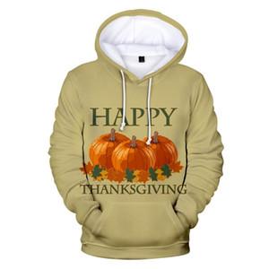 Thanksgiving Day 3D Hoodies Men women kids Sweatshirt Fashion Dress up Print Long Sleeve Hooded Thanksgiving Day 3D Hoodie Men's