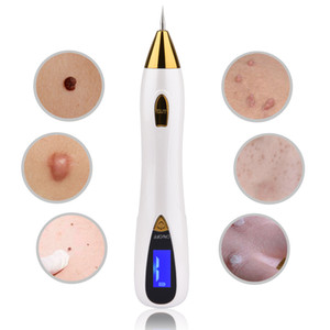 Laser Mole Removal Pen Wart Plasma Remover Tool Beauty Skin Care Corn Freckle Tag Nevus Dark Age Sweep Spot Tattoo Electric SetR
